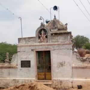 Damaged Sree Selva Vinayagar Temple in 2019